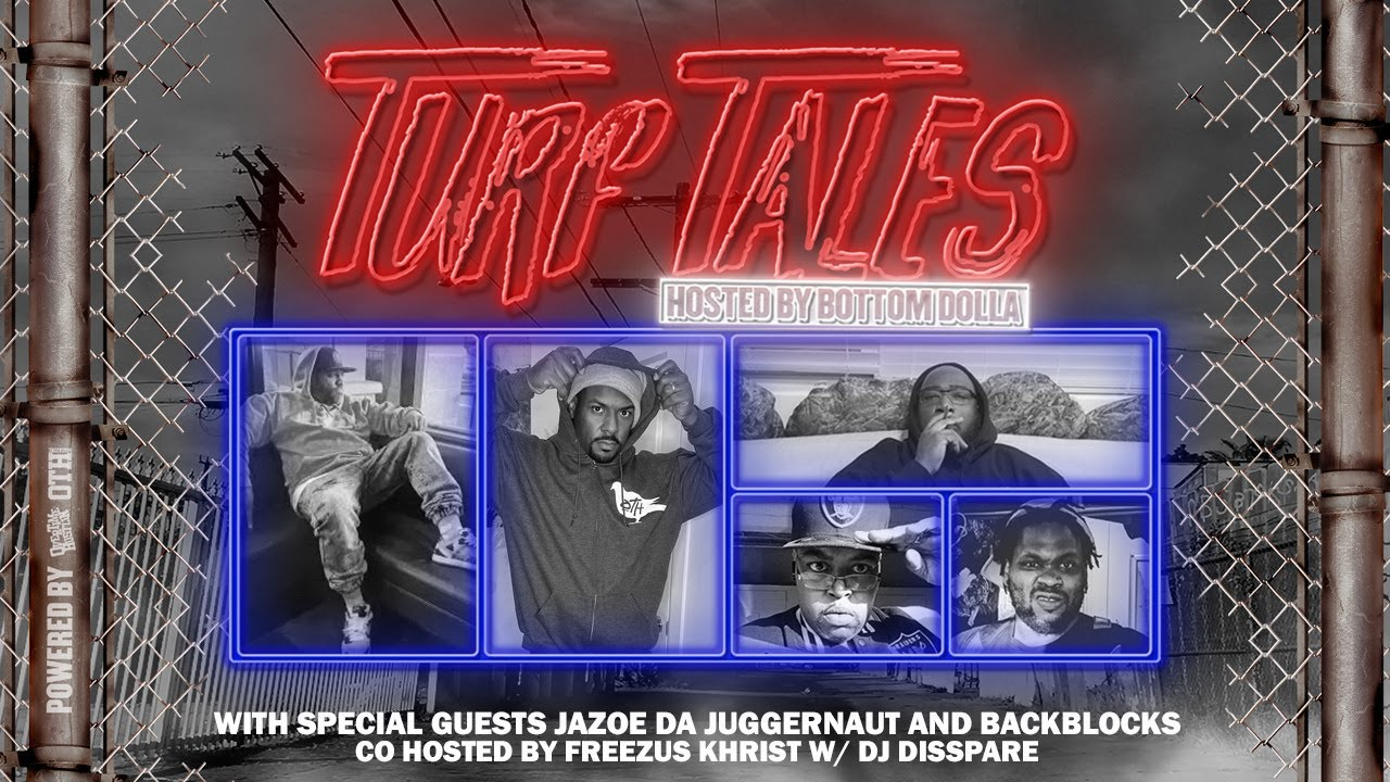"Overtime Hustlin Presents ""Turf Tales"" Episode 37 Hosted by Bottom Dolla (KnackInk / BackBlocks)"