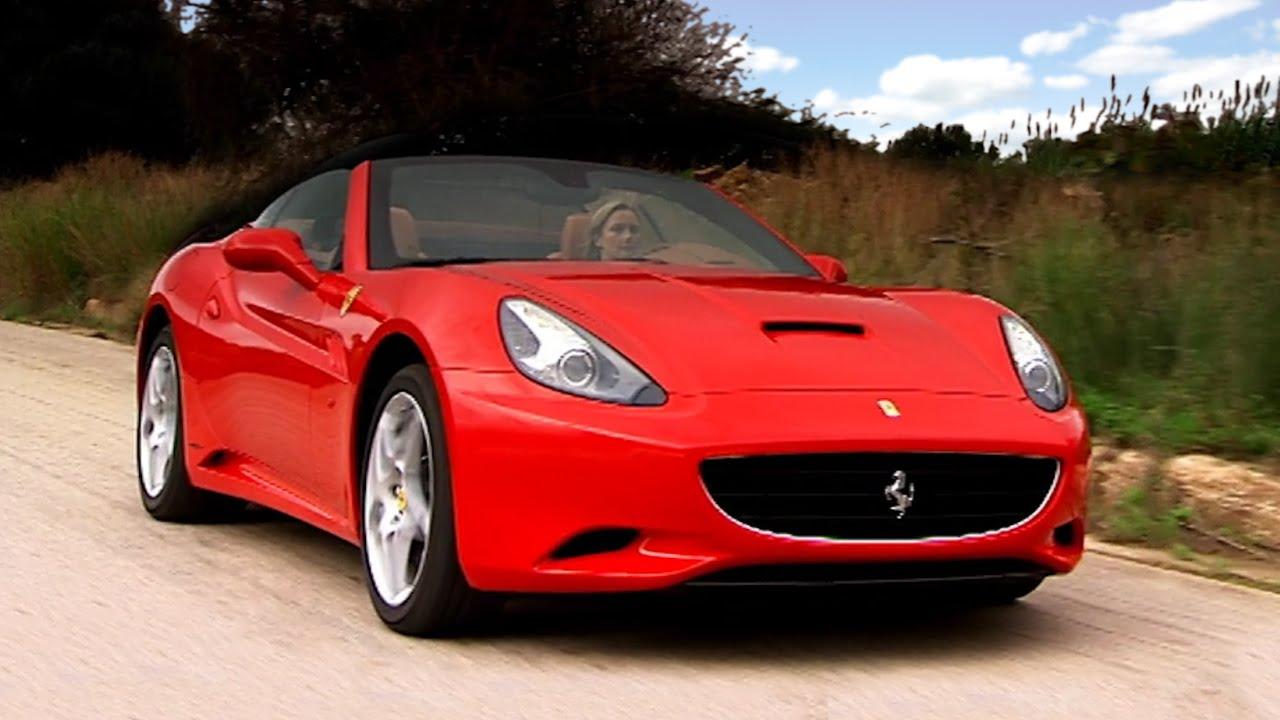 Driving The Ferrari California #TBT - Fifth Gear - YouTube