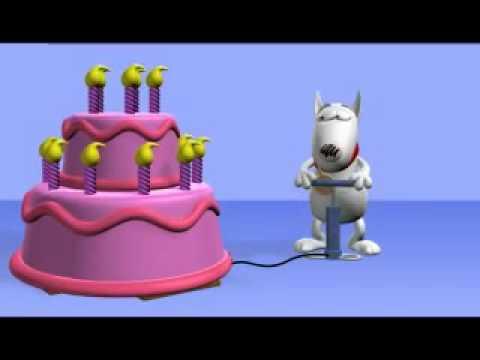 youtube születésnapi képek Szülinapi torta kutya   YouTube youtube születésnapi képek