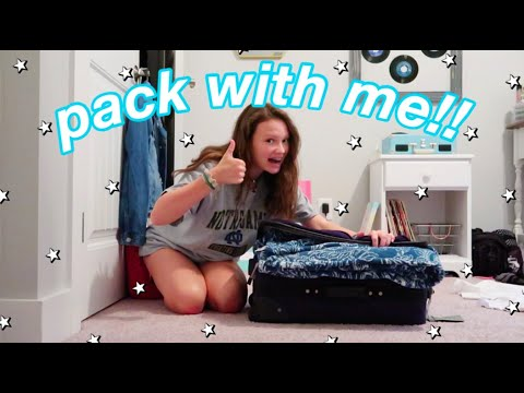 pack with me!!    summer camp edition