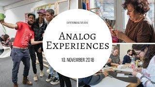 ETK 2018: Analog Experiences