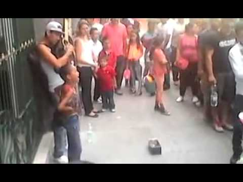 A young Mexican street performer and her uncle make a great duo
