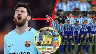 El único jugador que TUVO EL VALOR de enfrentar a Messi ¡Y Este fue su TERRIBLE castigo!