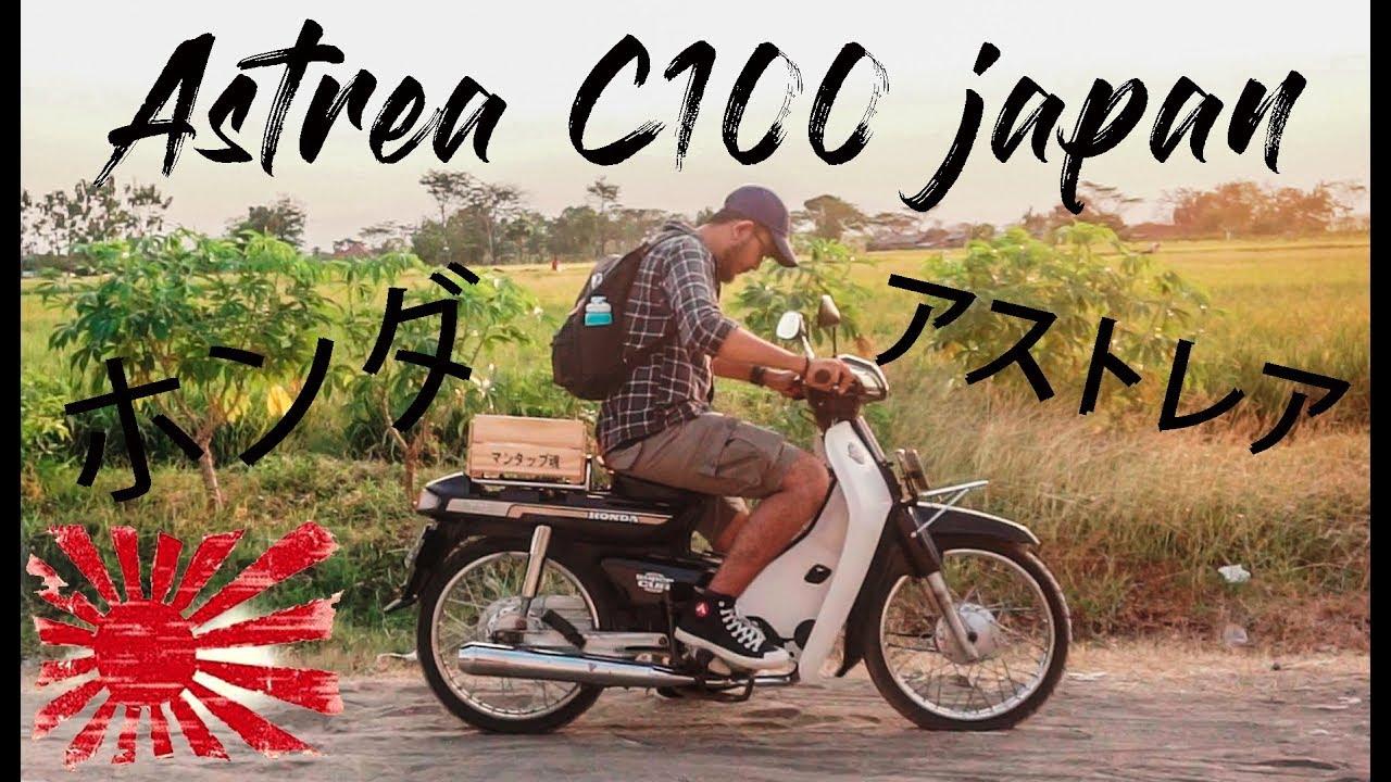 Honda Astrea Legenda 2 Downgrade Jadi Super Cub C100 Japan Edition