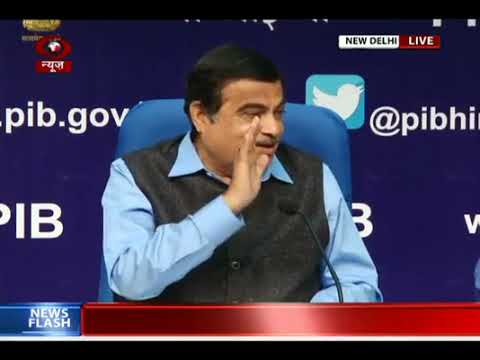 Union Transport Minister Shri Nitin Gadkari addresses media in New Delhi