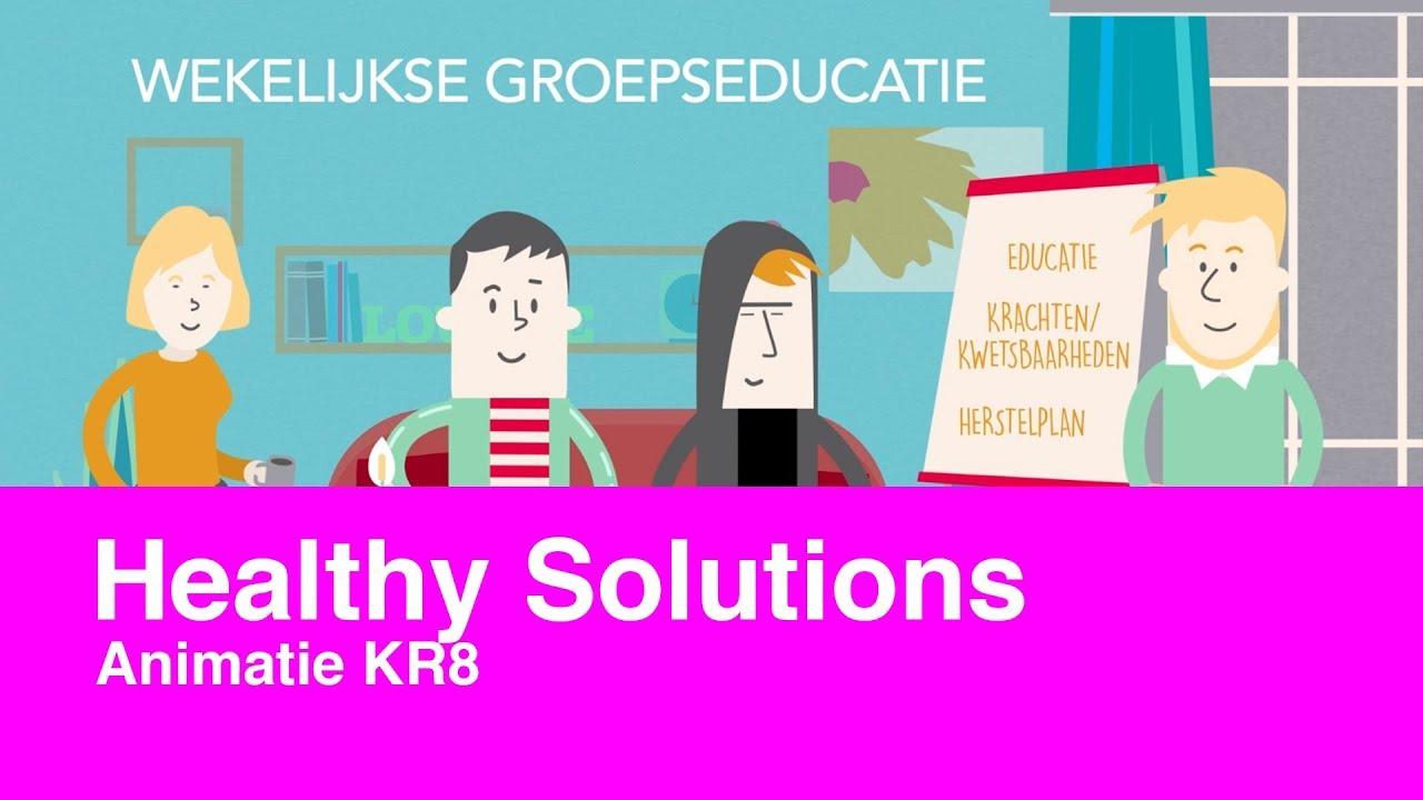 Healthy Solutions: KR8 programma - animatie 2018