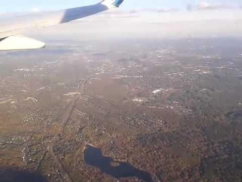 Flying over Pennsylvania