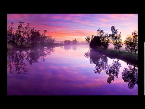 красивая природа живопись картины - YouTube