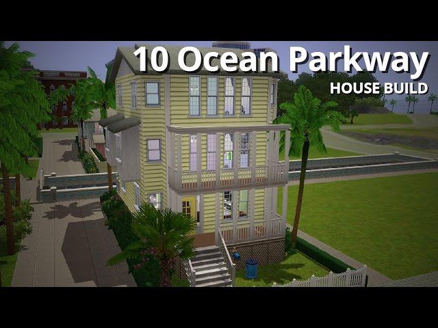The Sims 3 House Building - 10 Ocean Parkway - Aluna Island