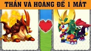 ✔️LAI RỒNG THẦN VÀ HOÀNG ĐẾ 1 MẮT !! - Dragon City Game Mobile Android, Ios #379