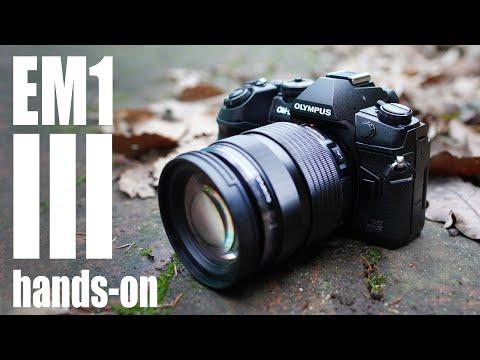Olympus OMD EM1 III: HANDS ON first looks