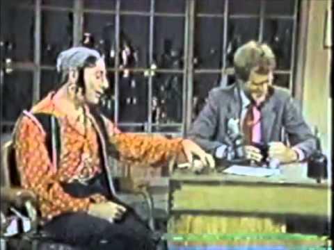 Pee Wee Herman @ David Letterman, Halloween 1983
