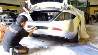 Bear Garcia building Custom Cars in Dubai