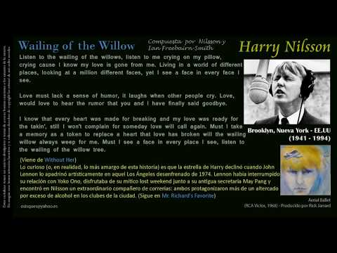 Wailing of the Willow (Freebairn-Smith / Nilsson) - Harry Nilsson