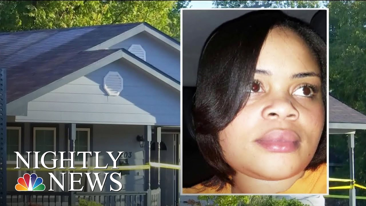 Outrage After Woman fatally Shot By Officer Inside Fort Worth Home   NBC Nightly News - NBC News
