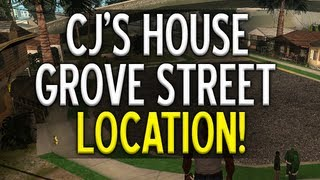 """""""Grand Theft Auto 5 - How to find Grove Street"""" CJ"""