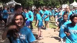 Flash mob at Children's Festival