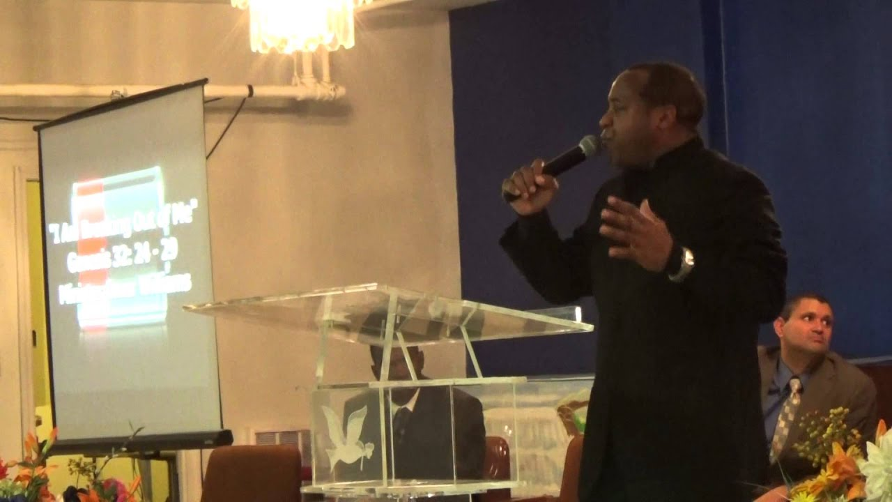 """Omar Williams rtc 2015 rev omar williams preaching """"i am coming out of me"""