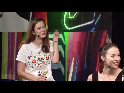 7 pádů HD: Berenika Kohoutová & Marika Šoposká (10. 10. 2017, Malostranská beseda)