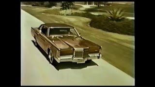 Lincoln Continental Mark 111 1969 commercial