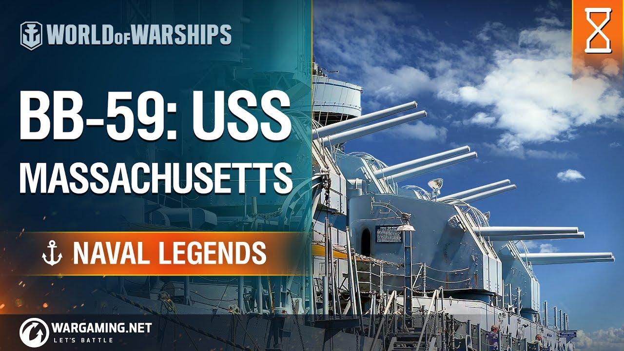 Naval Legends: USS Massachusetts | World of Warships - YouTube