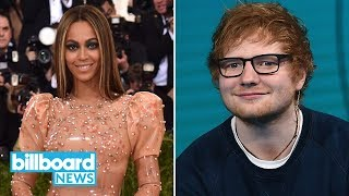 Ed Sheeran Confirms He Collaborated with Beyoncé on 'Perfect' Remix | Billboard News