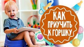 Как ребенка приучить к горшку по Комаровскому