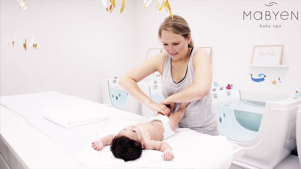 Babymassage - 1. Tutorial: Beine und Füße | MABYEN (Babyspa ...