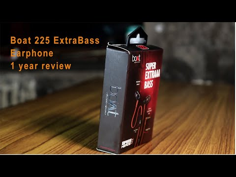 Boat 225 Extra bass earphone 1 year review  || supper quality ?Dolby ?
