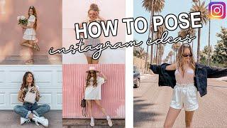 HOW TO POSE 20 Instagram Pose Ideas