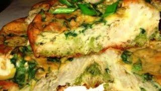 Запеканка с цветной капустой и брокколи