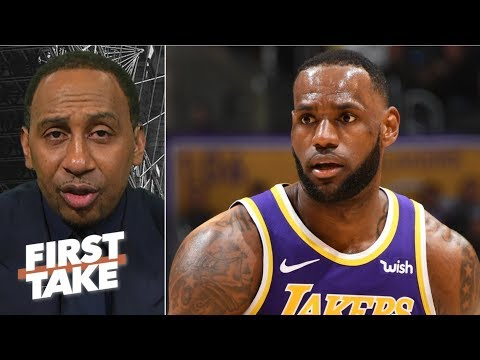 """Michael Jordan's assassin mentality means LeBron-MJ debate 'never existed"""" - Stephen A.   First Take"""