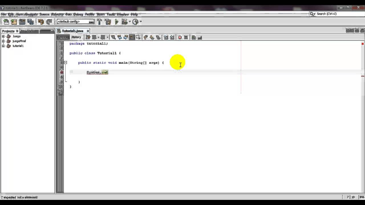Programación en java || hola mundo java || eclipse || youtube.