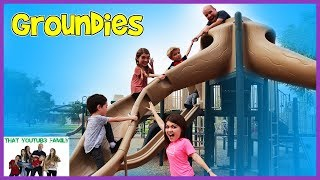 PLAYGROUND WARS - Grounders OR Groundies? / That YouTub3 Family I The Adventurers