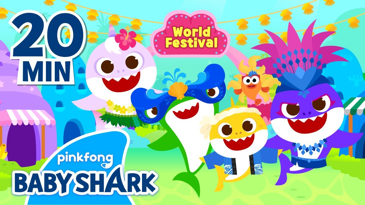 Hop into an Online Trip with Baby Shark | +Compilation | Learn Culture | Baby Shark Official