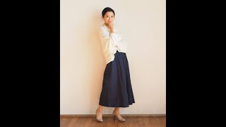 TP015 ワンタックガウチョパンツ One tuck gaucho pants http://pattern...