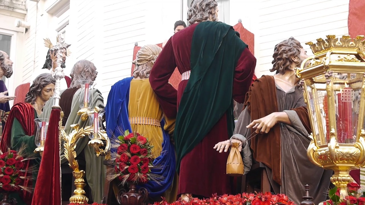 Resultado de imagen de Sagrada Cena en Campana. Semana Santa Sevilla 2017