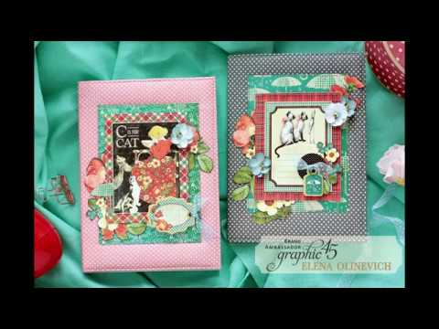 Raining Cats and Dogs Notebook Covers with Graphic45