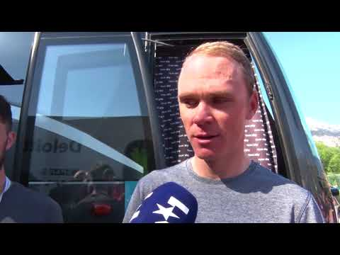 Chris Froome - Post-race interview - Stage 5 - Tour of the Alps 2018