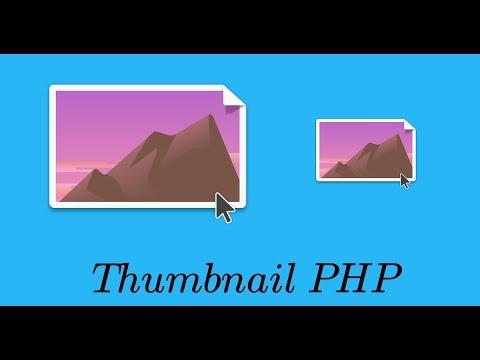 Thumbnail em PHP