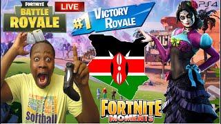 🔴BOTS PLAYING FORTNITE IN KENYA!!