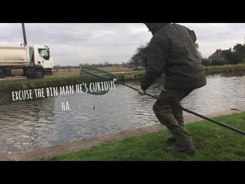 Pike Fishing  On The Lancashire Canal
