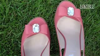 Видео обзор обуви LORIBLU   Босоножки на устойчивом каблуке