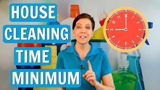 Two-Hour Minimum for House Cleaning