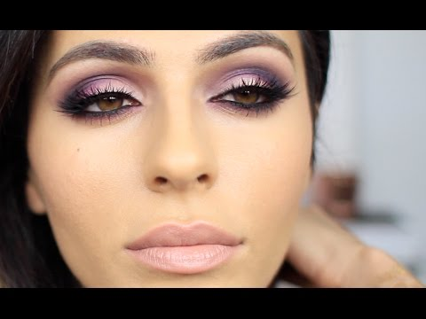 Purple + Pink Smoky Eye Makeup | Eye Makeup Tutorial | Teni Panosian