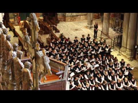 Sicut Cervus - St. Mark's Basilica, National Children's Chorus