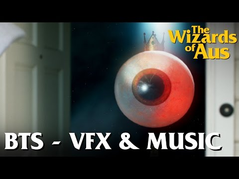 The Wizards of Aus || Behind the Scenes: Post Production - VFX & Sound