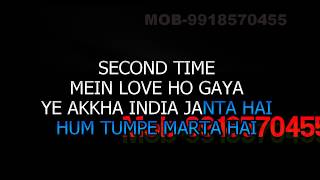 Akkha India Janata Hai Karaoke With Chorus Video Lyrics Jaan Tere Naam HQ