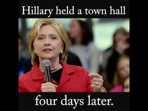 Wikileaks: Hillary Clinton Had Gun Control Supporters Planted In Town Hall Audience