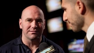 UFC 149: Dana White Discusses Card, Middleweight Title Picture, Strikeforce